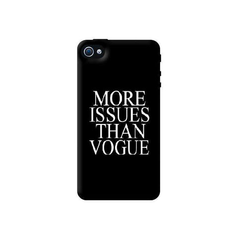 More Issues Than Vogue Apple iPhone 4/4S Case