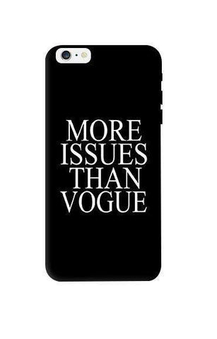 More Issues Than Vogue Apple iPhone 6 Plus Case