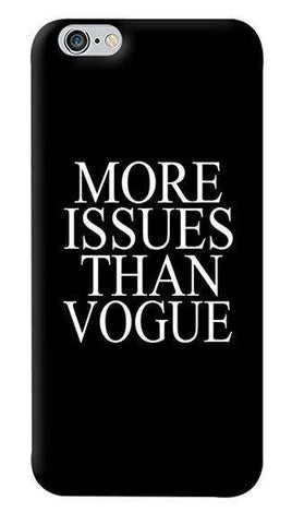 More Issues Than Vogue Apple iPhone 6/6S Case