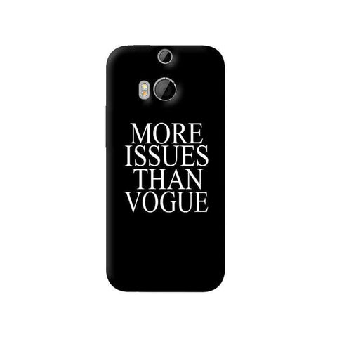 More Issues Than Vogue HTC One 8 Case