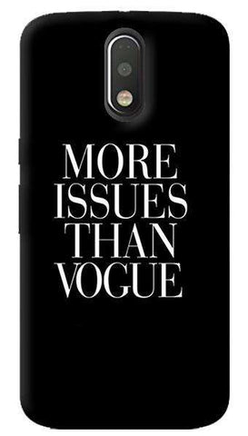 More Issues Than Vogue Motorola Moto G4/ G4 Plus Case