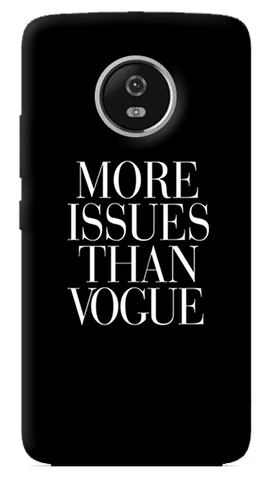 More Issues Than Vogue Motorola Moto G5 Plus Case
