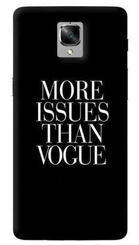 More Issues Than Vogue Oneplus 3/ 3T Case