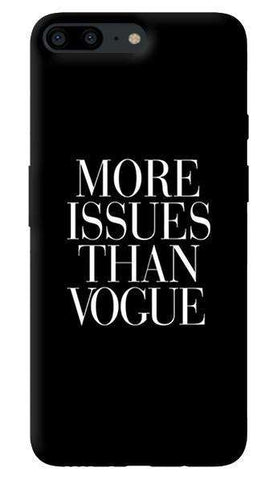 More Issues Than Vogue Oneplus 5 Case