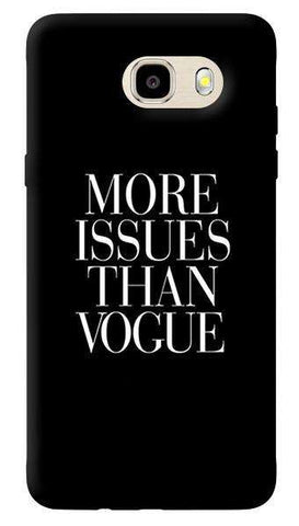 More Issues Than Vogue Samsung Galaxy J7 Case