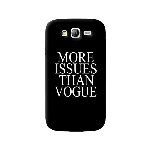 More Issues Than Vogue Samsung Galaxy Note 3 Case