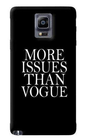 More Issues Than Vogue Samsung Galaxy Note 4 Case