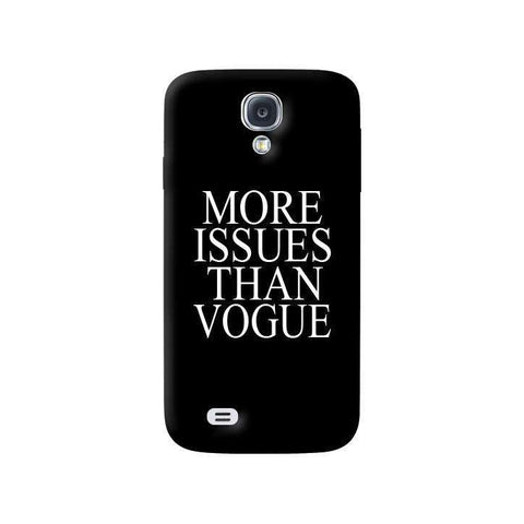 More Issues Than Vogue Samsung Galaxy S4 Case