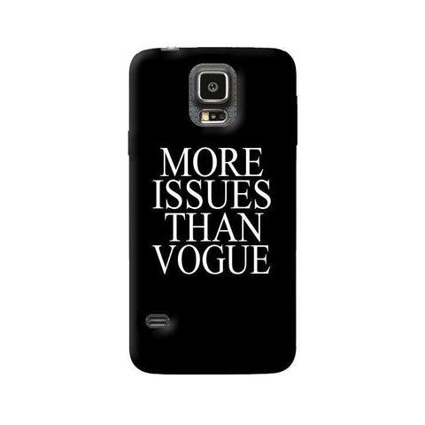 More Issues Than Vogue Samsung Galaxy S5 Case