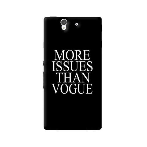 More Issues Than Vogue Sony Xperia Z Case