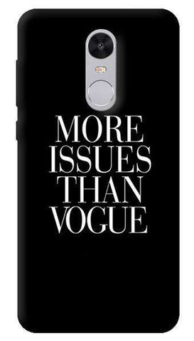 More Issues Than Vogue Xiaomi Redmi Note 4 Case