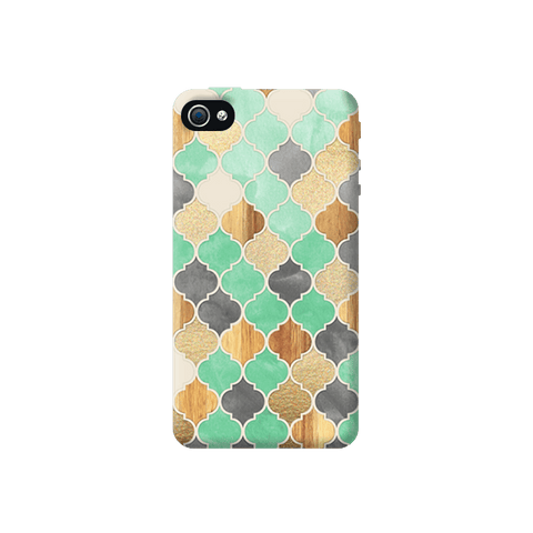 Moroccon Pattern Apple iPhone 4/4S Case