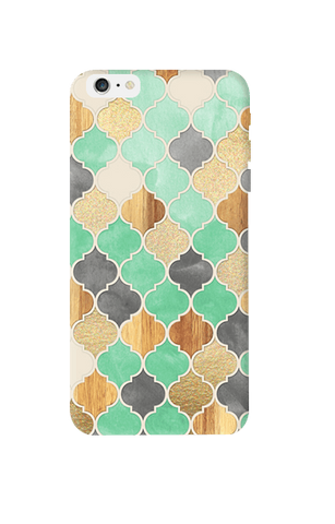 Moroccon Pattern Apple iPhone 6 Plus Case