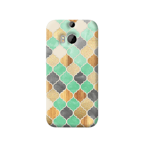 Moroccon Pattern HTC One M8 Case