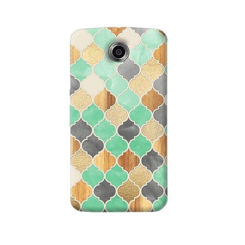 Moroccon Pattern Nexus 6 Case