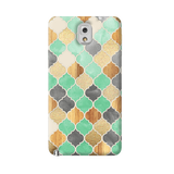 Moroccon Pattern Samsung Galaxy Note 3 Case