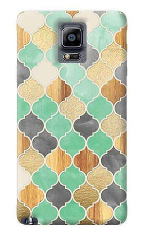 Moroccon Pattern Samsung Galaxy Note 4 Case