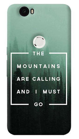 Mountains are Calling  Nexus 6P Case