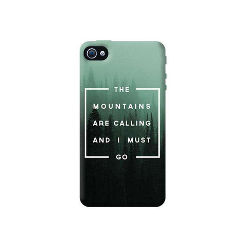 Mountains are Calling Apple iPhone 4/4S Case