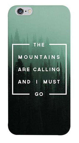 Mountains are Calling Apple iPhone 6/6S Case