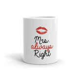 Mrs. Right Coffee Mug
