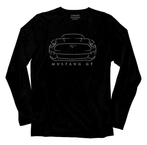 Mustang GT Full Sleeves T-Shirt