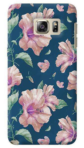 Navy Floral  Samsung Galaxy Note 5 Case