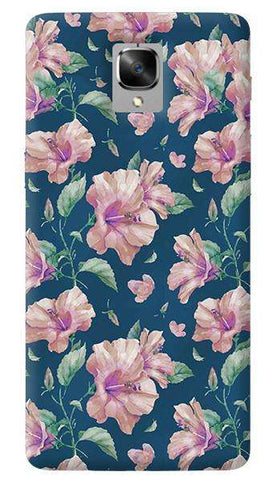 Navy Floral Oneplus 3/ 3T Case