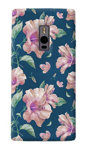Navy Floral OnePlus Two Case