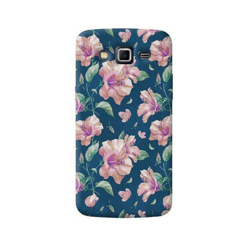 Navy Floral Samsung Galaxy Grand 2 Case