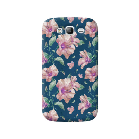 Navy Floral Samsung Galaxy Grand Case