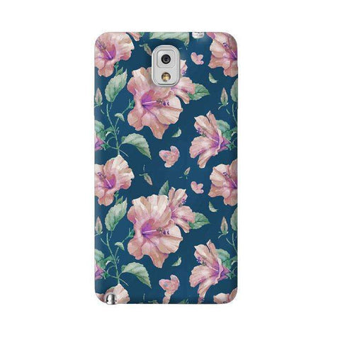 Navy Floral Samsung Galaxy Note 3 Case