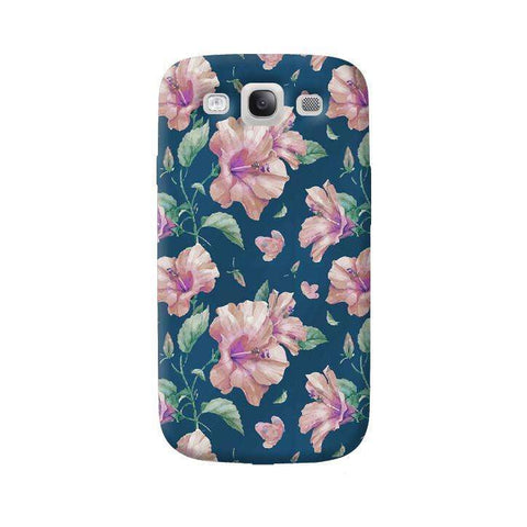 Navy Floral Samsung Galaxy S3 Case