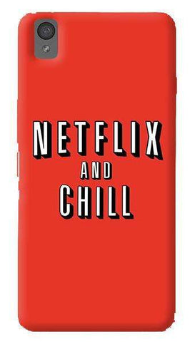 Netflix And Chill   Oneplus X Case