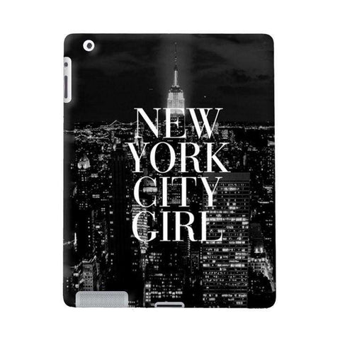 New York City Girl Apple iPad Case
