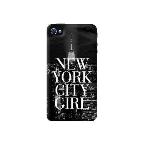 New York City Girl Apple IPhone 4 4S Case