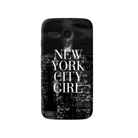 New York City Girl Moto G Case
