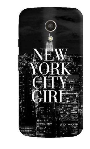 New York City Girl Motorola Moto G 2nd Gen Case