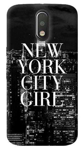 New York City Girl Motorola Moto G4/ G4 Plus Case