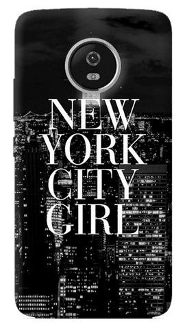 New York City Girl Motorola Moto G5 Plus Case