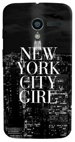 New York City Girl Motorola Moto X Case