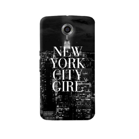 New York City Girl Nexus 6 Case
