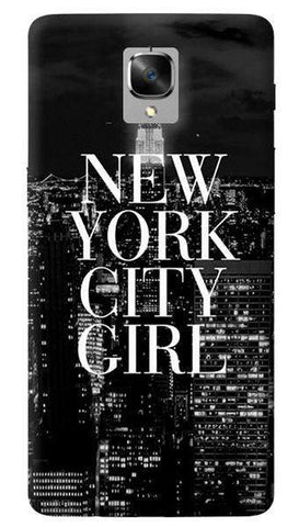 New York City Girl Oneplus 3/ 3T Case
