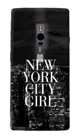New York City Girl OnePlus Two Case