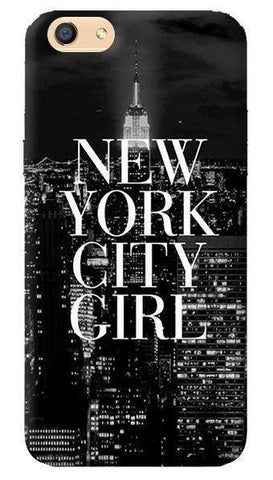 New York City Girl Oppo F3 Case