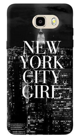 New York City Girl Samsung Galaxy J7 Prime Case