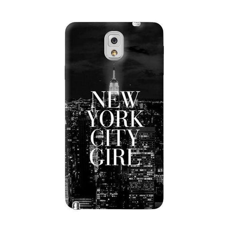 New York City Girl Samsung Galaxy Note 3 Case