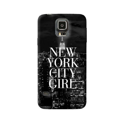 New York City Girl Samsung Galaxy S5 Case