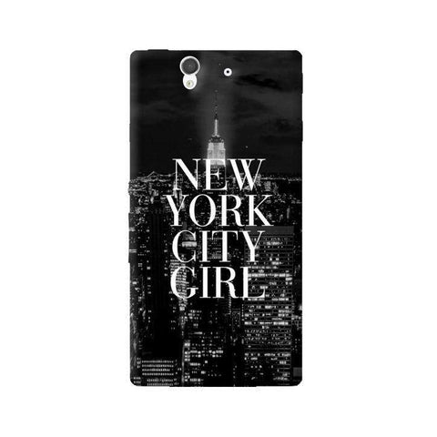 New York City Girl Sony Xperia Z Case