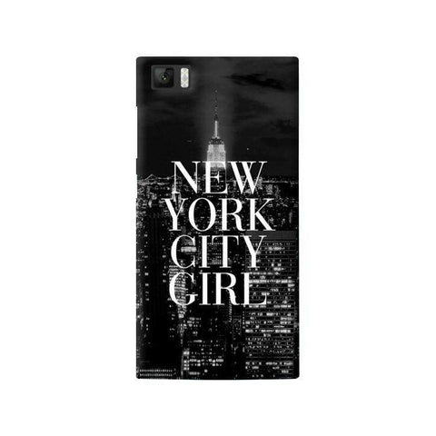 New York City Girl Xiaomi Mi3 Case